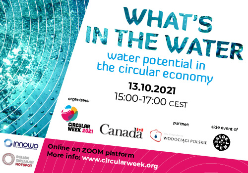 What's in the Water – water potential in the circular economy