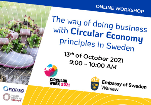 The way of doing business with  Circular Economy principles in Sweden