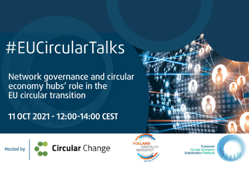 The role of Network Governance and circular economy hubs in the EU circular transition